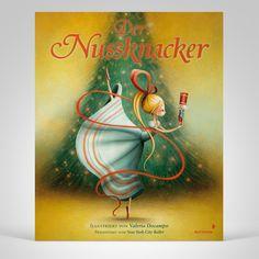 """""""Ich bin von diesem bezaubernden Bilderbuch begeistert und empfehle es besonders für kleine Balletratten, aber auch alle von 3 bis 6 Jahren, die sich gerne in zauberhafte Welten entführen lassen wollen."""", Rezension zu Valeria Docampo: 'Der Nussknacker' auf kinderohren.com"""