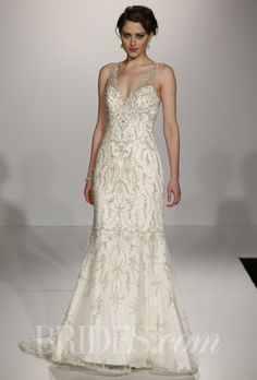 Maggie Sottero Best Wedding Dresses From Bridal Market Spring 2014 Gatsby Wedding Dress, Maggie Sottero Wedding Dresses, Wedding Dresses 2014, Wedding Dress Styles, Bridal Dresses, Wedding Gowns, Beaded Dresses, 1920s Wedding, Glamour