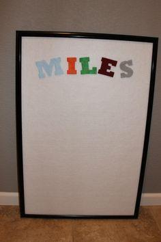 IMG 7049 500x750 Simply Made Sunday: Simple Felt Board