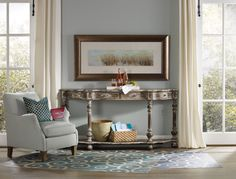 Hooker Furniture Living Room Sanctuary Console Table 5408-85001