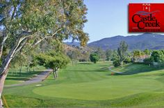 $62 for 18 Holes with Cart for TWO Golfers at Castle Creek Country Club near Escondido, California!