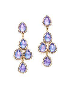 Erickson Beamon Periwinkle Duchess Earrings