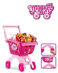 Holy Stone Mini Shopping Cart Pretend Play Toy Color Pink Toy for Toddler Holy Stone http://www.amazon.com/dp/B00LX8QCWI/ref=cm_sw_r_pi_dp_0mrzwb0BTHH5B
