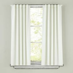 Fine Prints Curtain Panel (Green XO)
