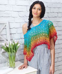 Fire and Ice Poncho