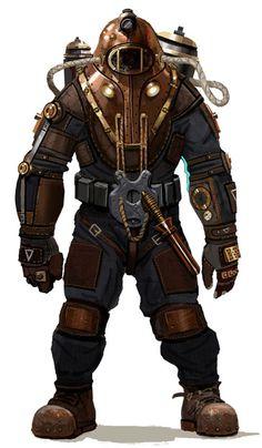 diving suit armor