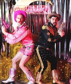 A Gay Cowboy Wedding by Alyssa Edwards Cowgirl Birthday, Cowgirl Party, Cowboy And Cowgirl, Cowgirl Costume, Deer Costume, Dolly Fashion, Urban Cowboy, Space Cowboys, Le Far West