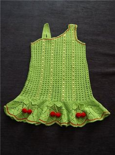 Light green girl's dress ♥LCK♥ with diagram