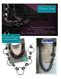 Hematite truly goes with everything! http://facebook.com/AccessorizeWithAndrea