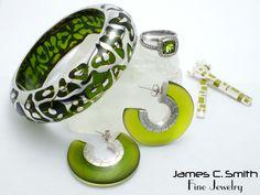 Peridot green jewely. #peridot #green #jewelry