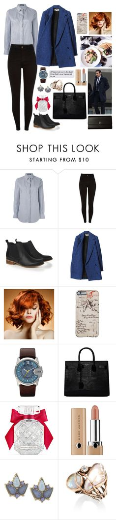 """Instant Human"" by anna-fozo ❤ liked on Polyvore featuring Dolce&Gabbana, STELLA McCARTNEY, WigYouUp, Yves Saint Laurent, Victoria's Secret, Carolee, Sandra Dini and Chanel"