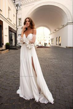 Strapless Wedding dress from Chiffon wedding dresses with Wedding Dresses Under 100, Wedding Dress Chiffon, Wedding Dress Sleeves, Wedding Dresses Plus Size, White Wedding Dresses, Cheap Wedding Dress, Bridal Dresses, Wedding Gowns, Wedding Dress Trends