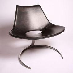 Jørgen Kastholm & Preben Fabricius - Scimitar Chair