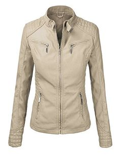 #womensfashion LL Womens Quilted Biker Jacket: Women's Clothing Center is a site where all your fashion dreams come… #womensclothing