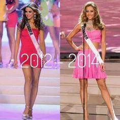 Dos de las mejores Miss Ecuador.