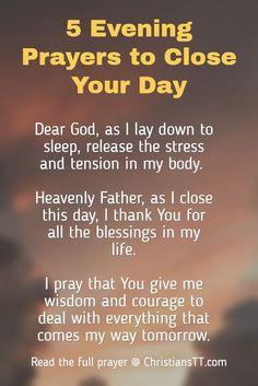 Jesus Christ is Powerful evening prayers to close your day. Prayer Of Praise, Prayer Scriptures, Bible Prayers, Faith Prayer, Catholic Prayers, God Prayer, Night Prayer Catholic, Bible Verses, Salvation Prayer