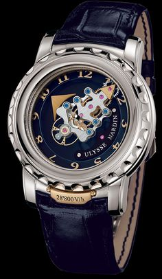020-88 - Freak - Exceptional - Welcome to the Ulysse Nardin collection - Ulysse Nardin - Le Locle - Suisse - Swiss Mechanical Watch Manufacturer