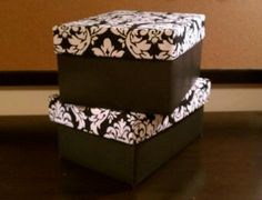 Damask Storage Cubes   Set Of 2 In Black And White By Room... | Shop Home,  Home_organizing,cleaning| Kaboodle | Storage | Pinterest | Damasks, Storage  Cubes ...