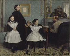 Edgar Degas,Die Bellelli Familie,© RMN-Grand Palais (Musée d'Orsay) / Gérard Blot
