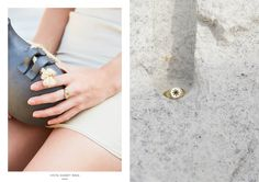The Signet Ring, cast in brass, features an engraving of the rising sun. The rising sun symbolizes a new day and provides its wearer with continuous positive energy. Collections Photography, Signet Ring, Ring Earrings, Jewelry Collection, Hair Makeup, Campaign, Chokers, Mary, Bangles