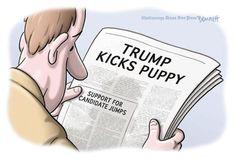 Best Donald Trump Cartoons of 2016: Donald Trump Support