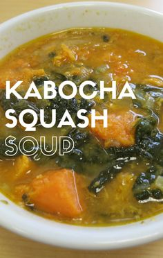 Candice Kumai shared her Kabocha Squash Soup with Dr Oz, pointing out that the Japanese squash is loaded with vitamins A and C and fiber, and follows The Day-Off Diet requirements!
