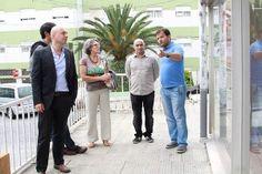 Elvira Ferreira visita associações de bairro, Matriz e Mercado