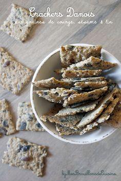 Crackers danois aux graines