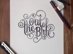 Out of the Blue on Behance by Xavier Casalta
