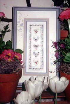 Cross Stitch Kit by Shepherd's Bush, Heart Blooms, Complete Kit