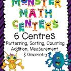 While completing these six math centres your Grade One students will have a monster of a time. Each center focuses on a different strand or skill. ...