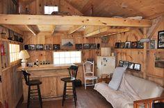 16x20 Vermont Cottage - Interior