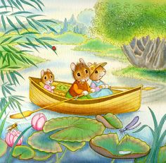 """""""Wee Mouse"""" illustrated by Lucinda McQueen"""