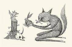 Offering - Alex G Griffiths Illustration