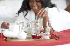 Can't figure out how to layer your skincare? In this post I'll go through the right order to apply your skincare products. Melanin Skin, Acne Spot Treatment, Acne Spots, Olay Regenerist, Dark Skin Tone, Facial Serum, Face Oil, Hair Health, Makeup Videos