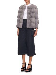 Sarah mink-fur jacket | Lilly E Violetta | MATCHESFASHION.COM