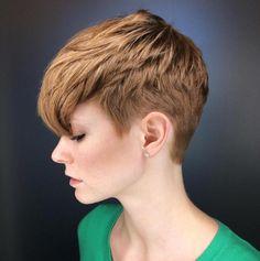 Ginger Taper Pixie Cut