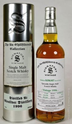 Signatory un-chillfiltered Collection, Vintage Glenlivet Whisky