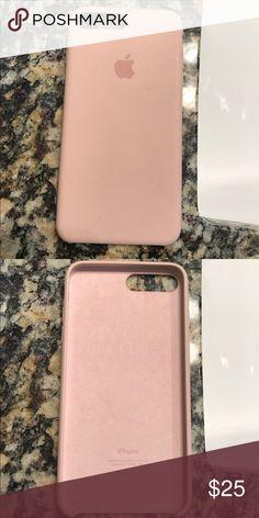 Apple iPhone 7 Plus Silicon Case (Apple Brand) Pink Sand iPhone 7 Plus  Silicon 504cba9ab170b