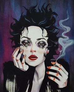 """Slide"" by @harumi_hironaka ""Marla... the little scratch on the roof of your mouth that would heal if only you could stop tonguing it, but you can't."""