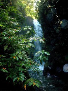 cascada Río Malo. Ecuador