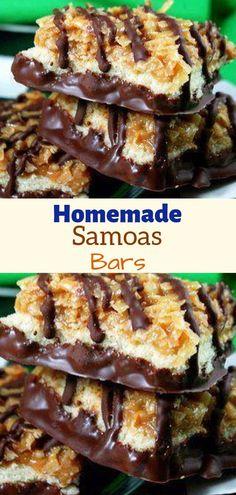 Ingredients: Cookie Base: cup sugar cup b Köstliche Desserts, Delicious Desserts, Dessert Recipes, Healthy Desserts, Healthy Food, Candy Recipes, Sweet Recipes, Bar Recipes, Bar Cookie Recipes