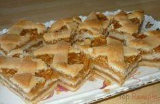 Apfel Gitter Kuchen Blech