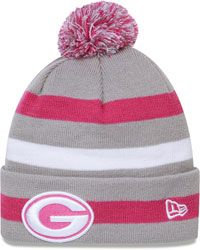 Green Bay Packers Pink New Era Cuffed Knit Breast Cancer Awareness Hat $0.00 http://www.fansedge.com/Green-Bay-Packers-Pink-New-Era-Cuffed-Knit-Breast-Cancer-Awareness-Hat-_-780580256_PD.html?social=pinterest_pfid26-10316