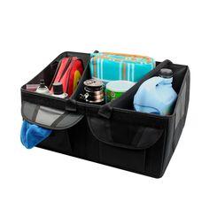 Furnistar Multi-Pocket Organizer Storage Bin for Vehicle Car