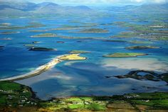 Croagh Patrick - view of Clew Bay from the summit by olenka :) on Flickr.