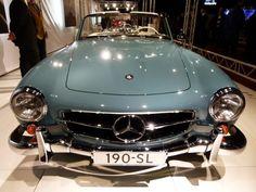 Beautiful car. Mercedes 190 SL