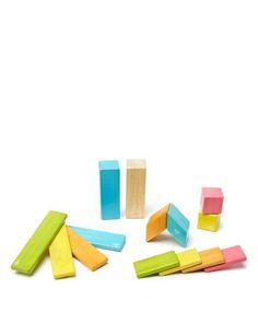 Tegu 14 Piece Magnetic Wood Block Set - Ages 1+
