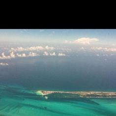 Beautiful ocean from the air!
