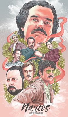 This Alternate Illustrated Poster of Netflix's Narcos was made on the iPad Pro with Apple Pencil and the Procreate app. The art was inspired from various illustrated movie posters and the look and feel of the TV show itself. Narcos Wallpaper, Narcos Poster, Don Pablo Escobar, Frankenstein Art, Iron Man Art, Alternative Movie Posters, Movie Poster Art, Science Fiction Art, Cool Artwork